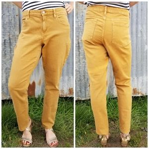 Anthropologie Pilcro | tan Stet skinny jeans
